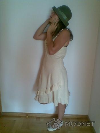 Sukienka S.Oliver, Galeria Bałtycka Gdańsk; Buty CCC, Galeria Bałtycka Gdańsk