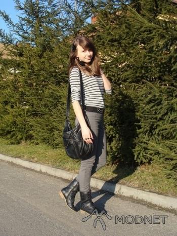 Spodnie Cubus, Plaza Rybnik; Bluzka H&M, Plaza Rybnik