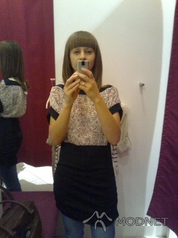 Sukienka Orsay, Carrefour Bemowo Warszawa