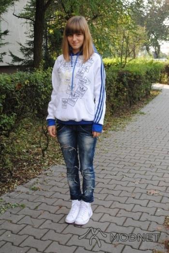 Bluza Adidas, Second Hand Parczew