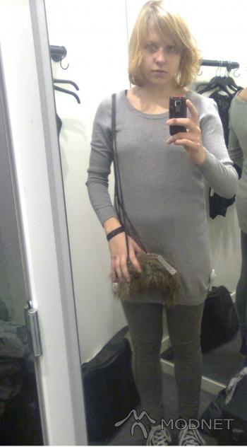 Torebka H&M, H&M Warszawa; Sweter H&M, H&M Warszawa