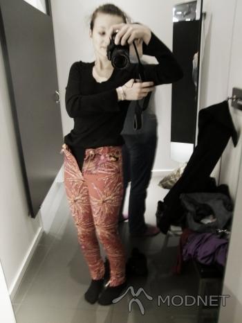 Spodnie Versace, H&M Wrocław