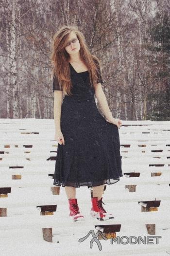 Sukienka Sabra, Sortownia odzieży Jaworzno