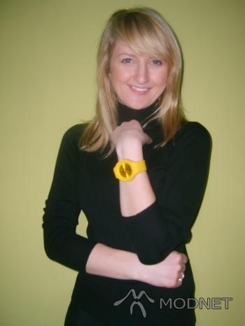 Bransoleta jelly watch, http://www.allegro.pl