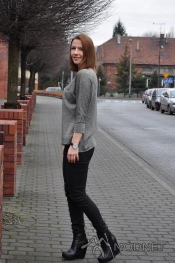 Jeansy Tally Weijl, Galeria Sanowa Przemyśl; Botki stylowe buty, http://www.stylowebutki.pl
