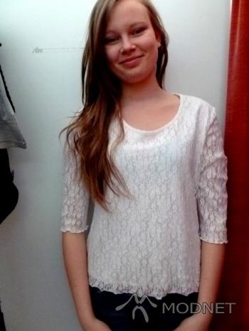 Bluzka marisha, Sortownia odzieży Jaworzno