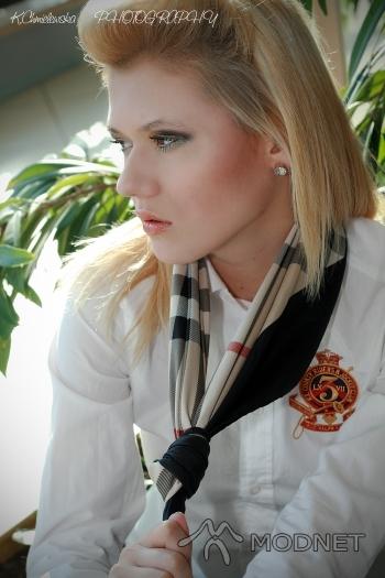 Apaszka Burberry, http://www.ebay.pl