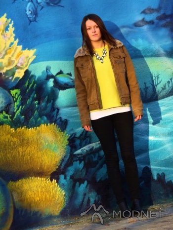 Sweter A-wear, Scandia Częstochowa; Kurtka L.O.G.G, Scandia Częstochowa