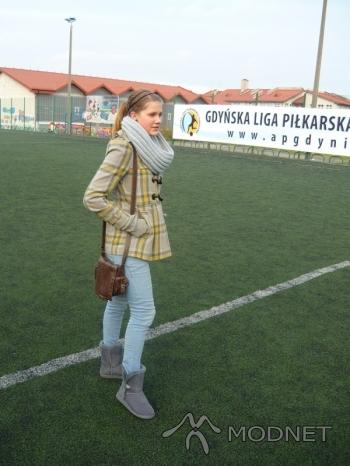 Płaszcz F&F, Tesco Gdynia