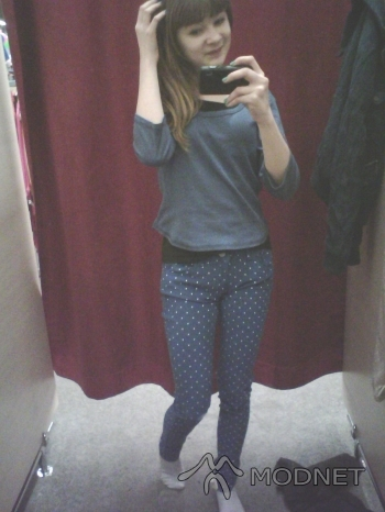 Spodnie Jeans, Auchan Żory