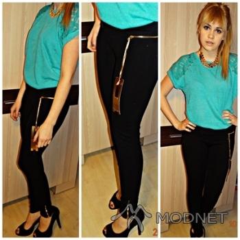 Spodnie noname, giełda Wólka Kosowska