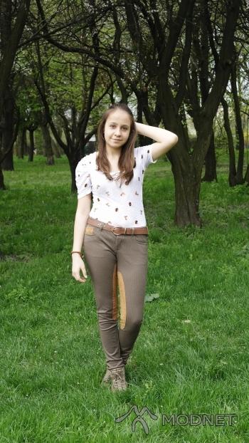 Spodnie Terranova, Manufaktura Łódź