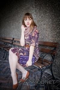 Torebka Atmosphere, Second Hand Kętrzyn; Sukienka H&M, Second Hand Warszawa; Czółenka New Look, Złote Tarasy Warszawa