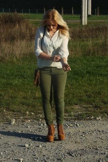 Spodnie Bershka, http://www.allegro.pl