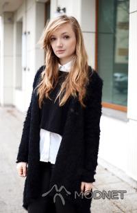 Kardigan Style Moi, http://www.stylemoi.nu; Sweter Pull&Bear, Arkadia Warszawa; Koszula WD, https://www.facebook.com/Globalwholesale
