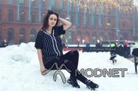 Bluzka Atmosphere, M jak Moda Płock; Spodnie Bershka, Galeria Mazovia Płock; Buty Nike, Galeria Wisła Płock