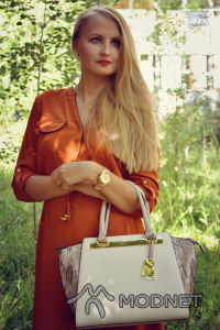 Torebka Aldo, http://www.zalando.pl; Sukienka H&M, CH POGORIA Dąbrowa Górnicza