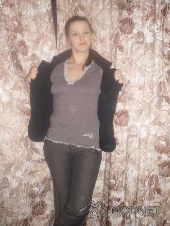 Spodnie Diana, Diana Słupsk; Sweter Diana, Diana Słupsk
